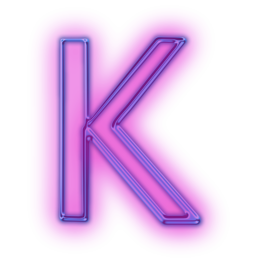 transparent k icon png