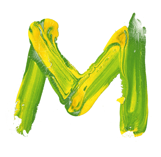 The letter m png. Brazil paint font helloooo