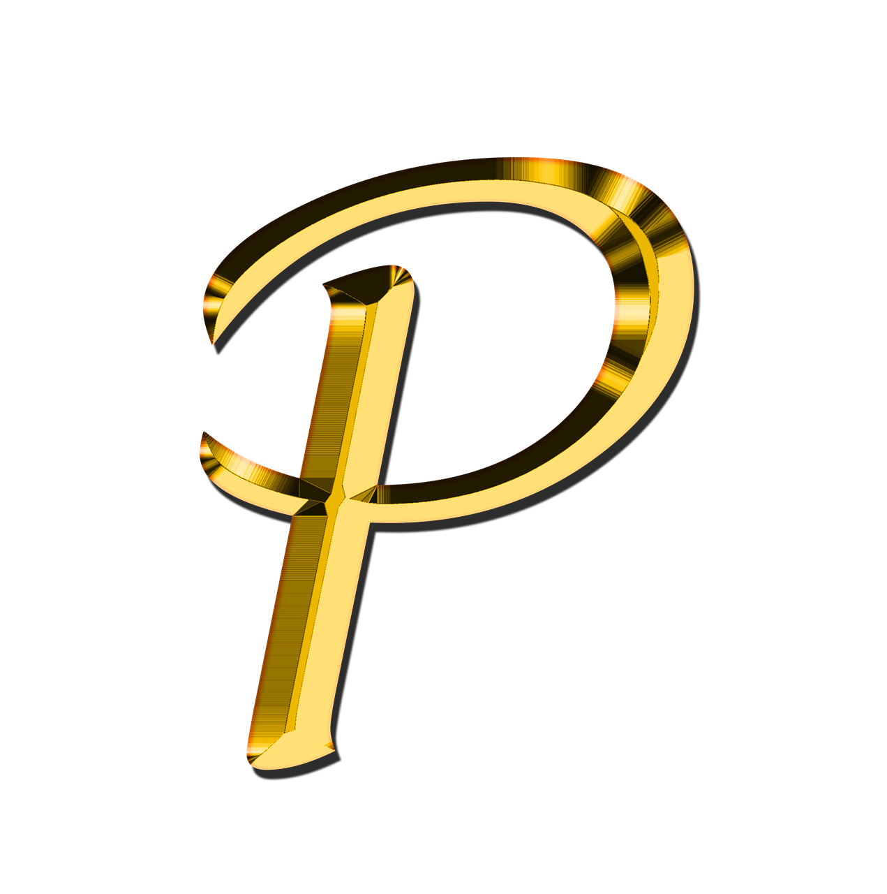 P transparent. Capital letter png stickpng