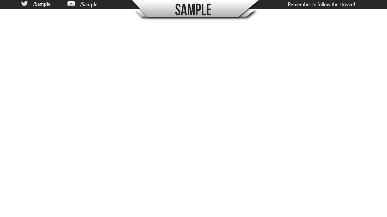 Twitch overlay template png. Free image