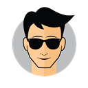 Cool png avatar. Male sunglasses icon free
