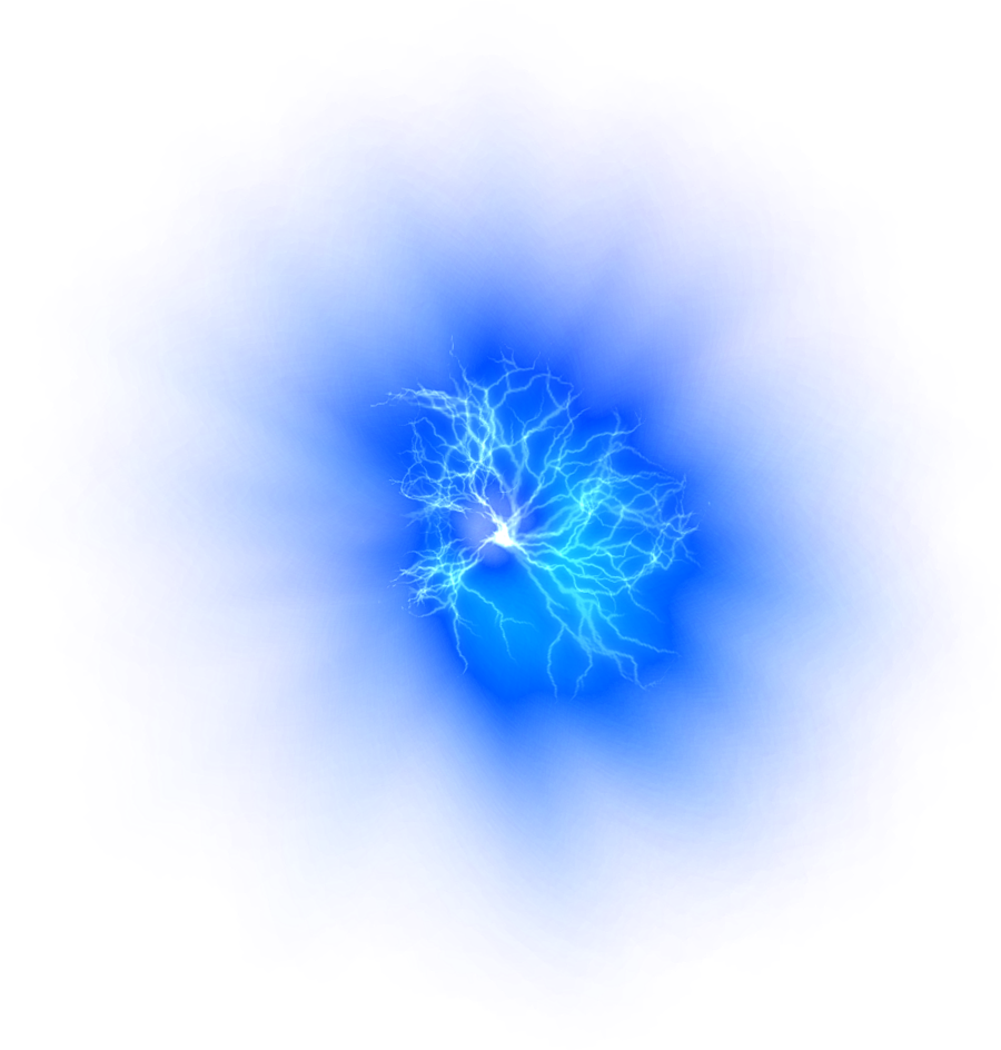transparent explosions lightning