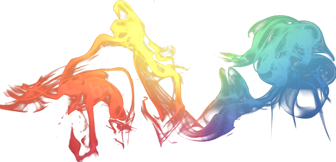 Cool png designs. Smoke multicolor