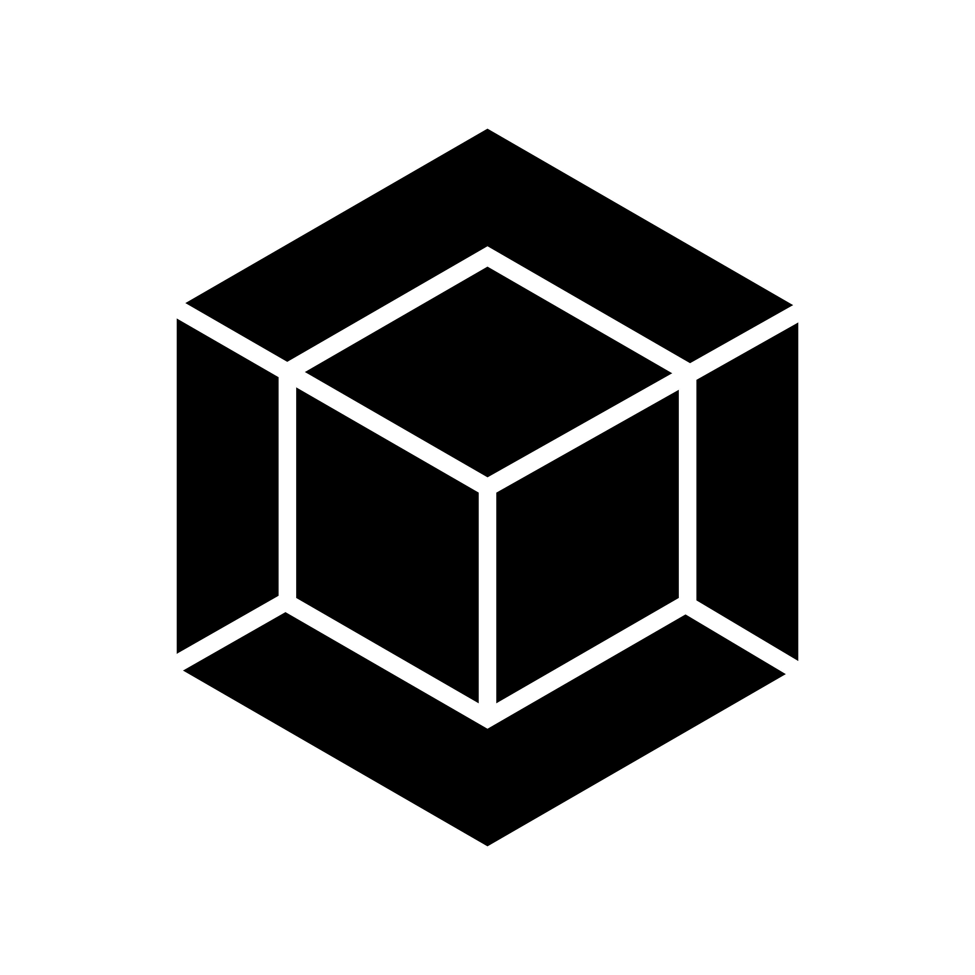 Cool png logos. Geometrical cube logo template
