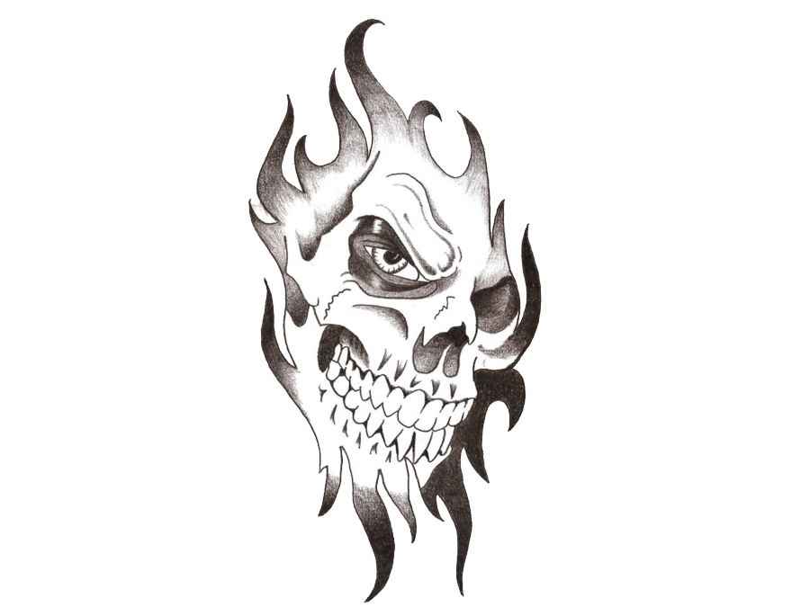 Cool tattoo png. Skull transparent images pluspng