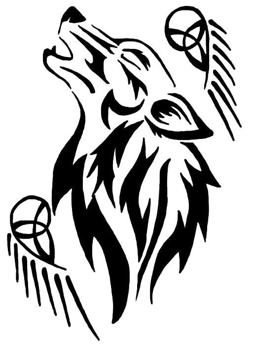 Cool tattoos png. Wolf transparent free images