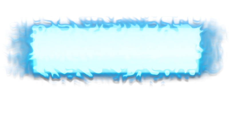 Cool text box png. Blue fire style by