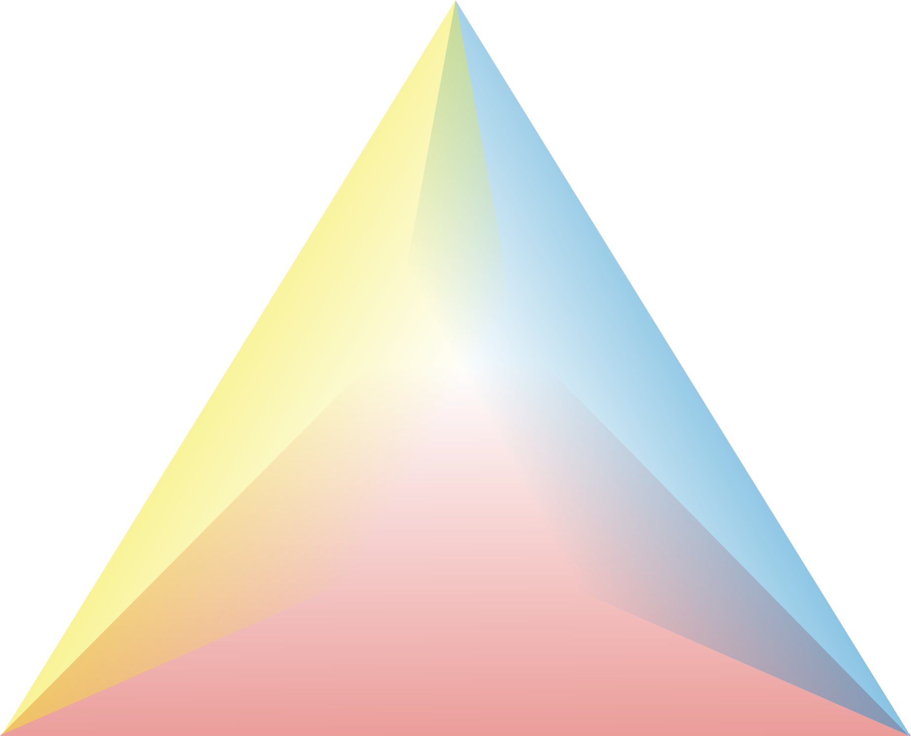 Cool triangle png. File model of love