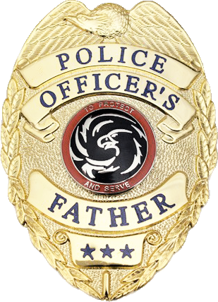 Cop badge png. Police officer s father