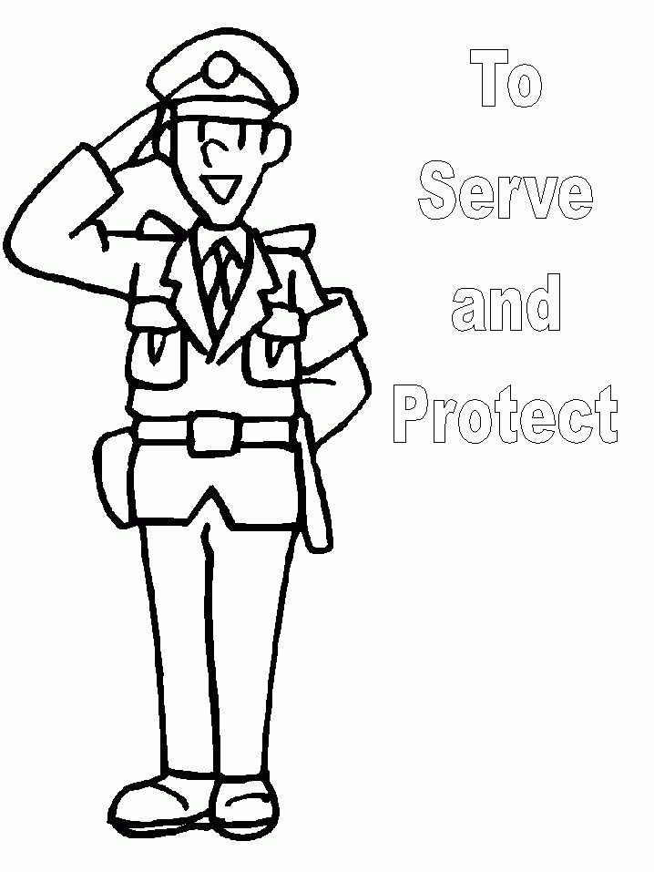 Cop clipart black and white. Police officer kind of