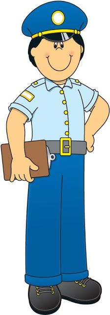 Cop clipart community helper. Pin by cyndi hahn