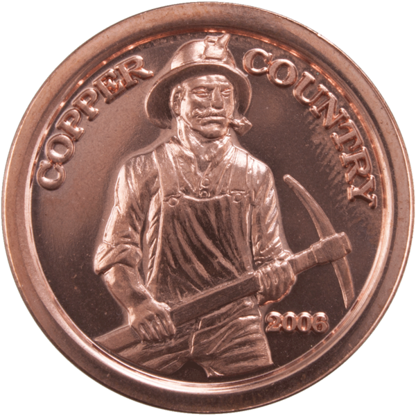 Copper coin png. A superior state of