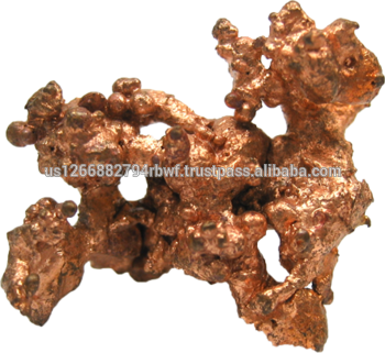 Copper transparent. Better quality ore in