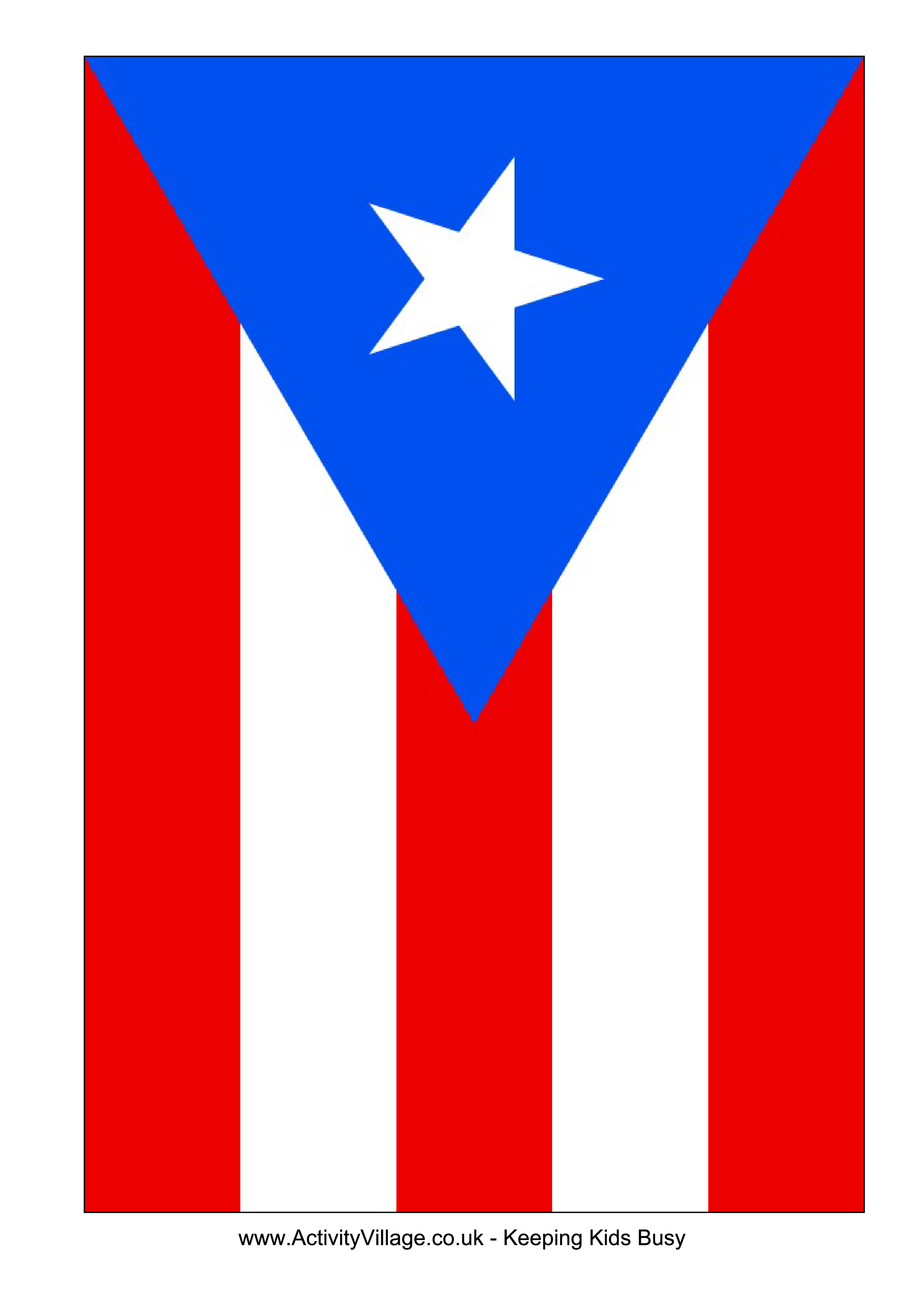 Coqui drawing flag puerto rican. Download this free printable