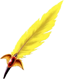 Coral feathers png. Chocobo feather final fantasy