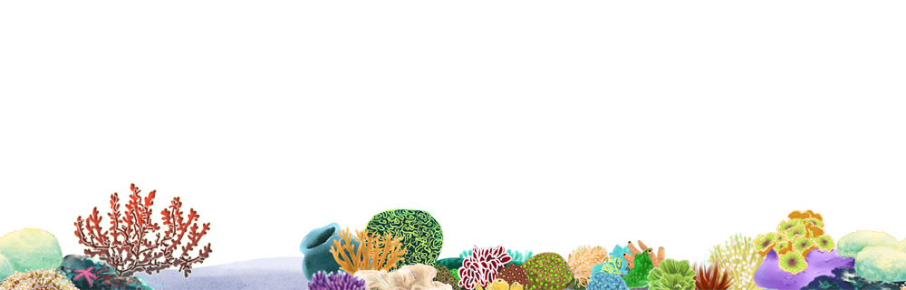 Coral reef png. Seamless stock by wandarocket