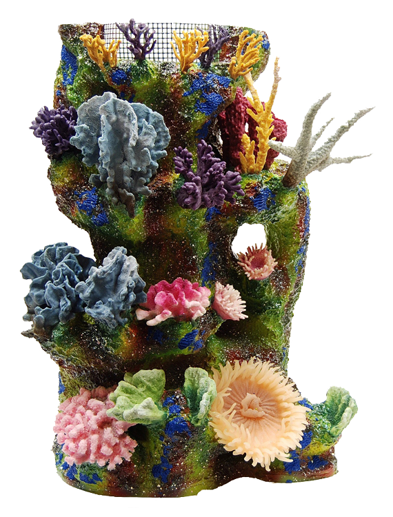 Coral reef png. Artificial inserts artifical aquarium