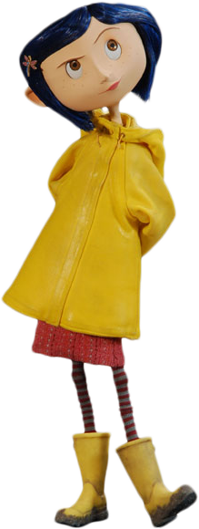 Coraline transparent. The other stuff official