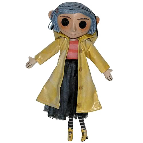 Coraline transparent doll. Download free png file