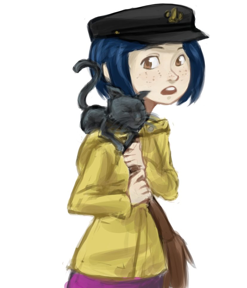 coraline transparent jones
