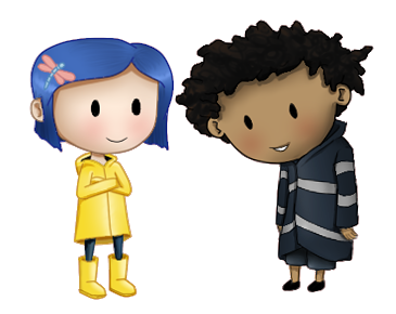 Coraline transparent wybie. And by jaydee art
