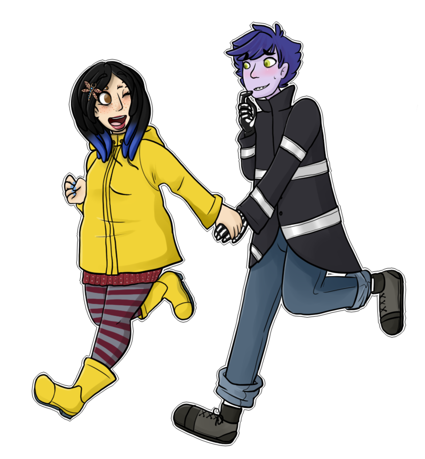 Coraline transparent wybie. And by itsmelon on