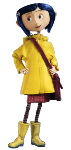 Coraline transparent wybie. Jones fictional characters wiki