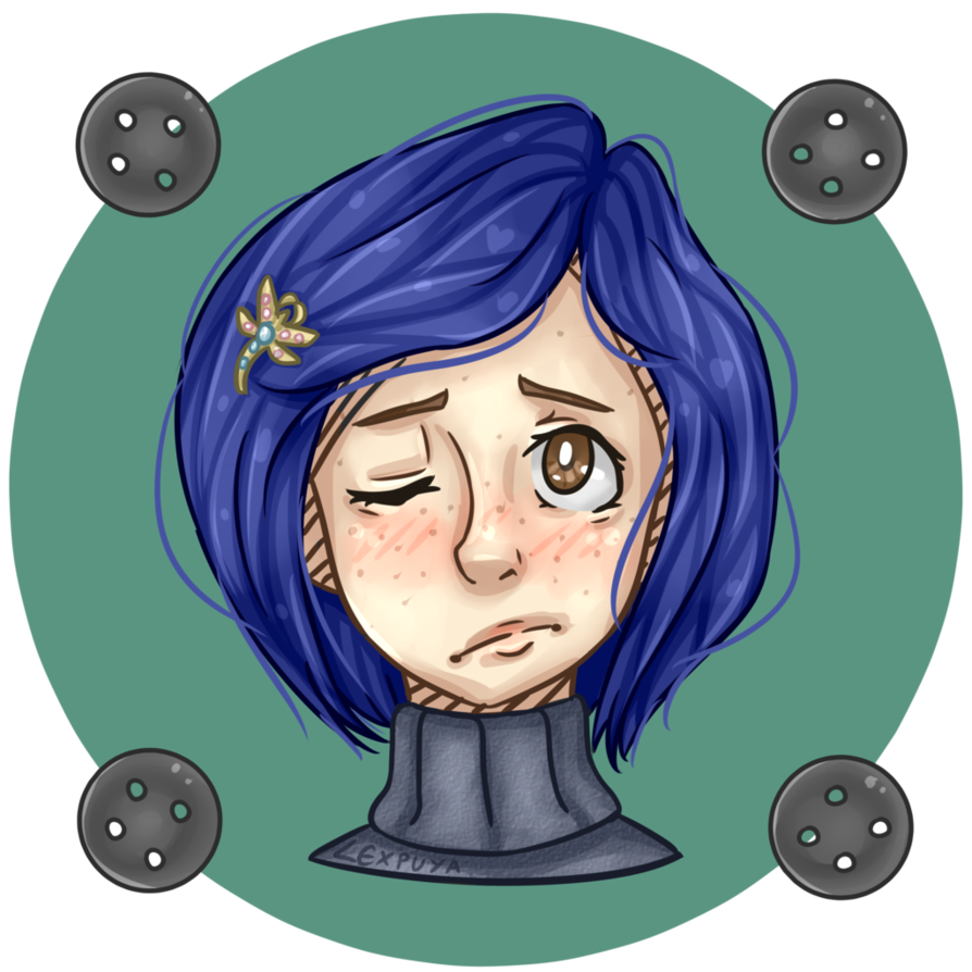 Coraline transparent youtube. Image by lexpuya da