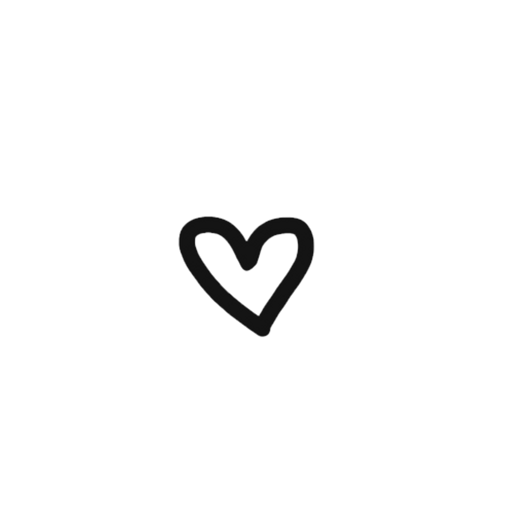 Corazón png black tumblr white heart. Corazon sticker by