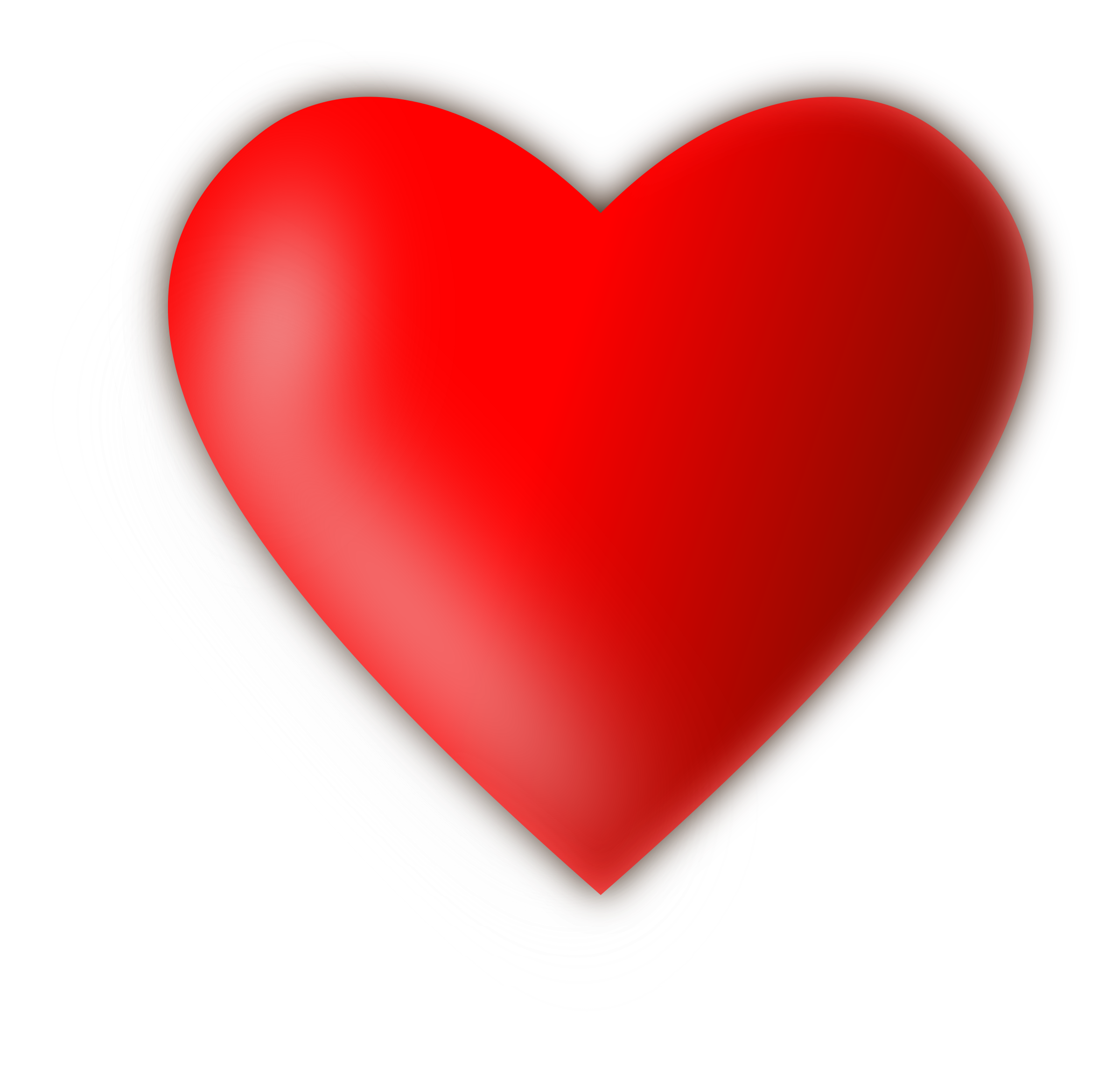 Corazón png red heart. Clipart coraz n big