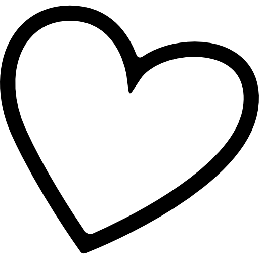 Corazón png love icon. Heart free interface icons