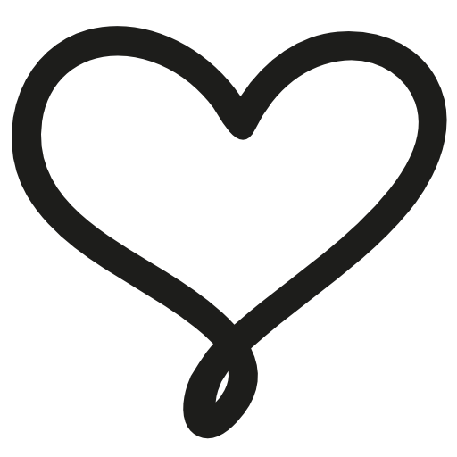 Love hand drawn symbol. Drawing wallpapers heart banner freeuse stock