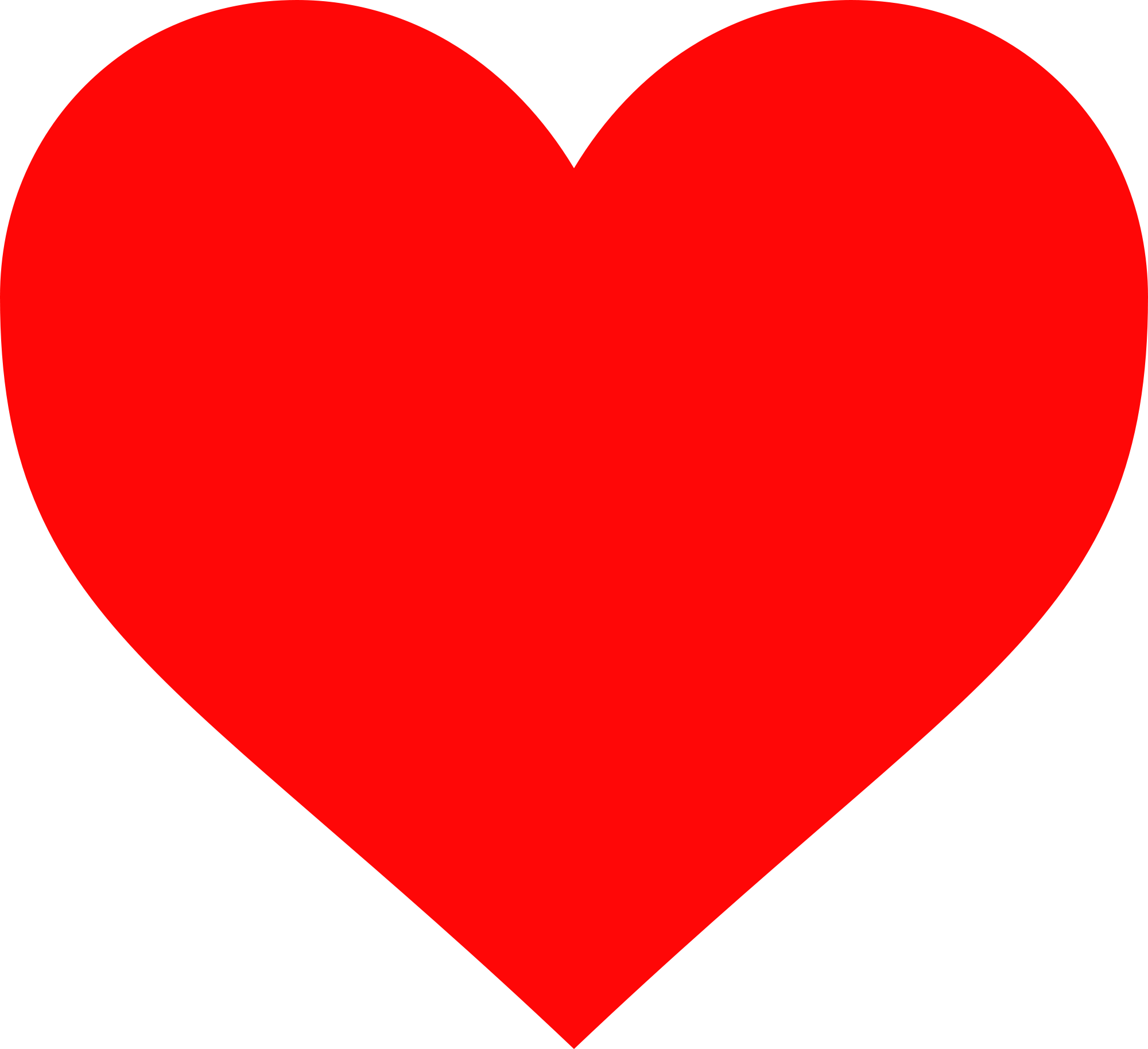 corazón png red heart