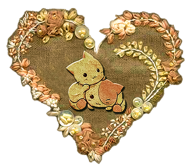 Corazon vintage png. By nynguno on deviantart