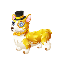 Corgi clipart wealthy. Wealth fantasy forest story