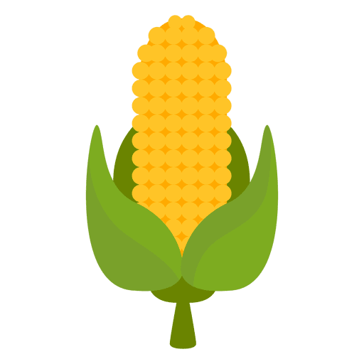 Corn cartoon png. Icon transparent svg vector