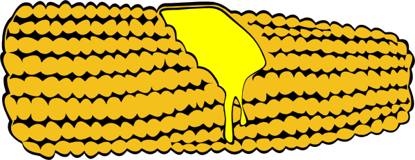 Corn clipart cob. On pencil and in