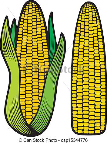 Corn clipart easy draw. Cob drawing at getdrawings