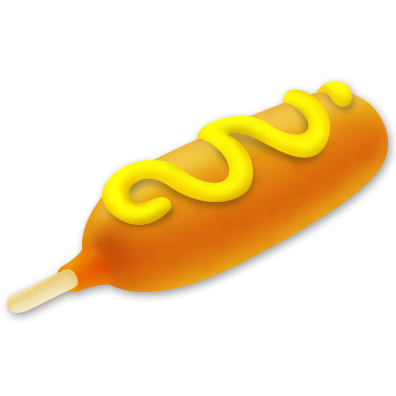 corn dog png