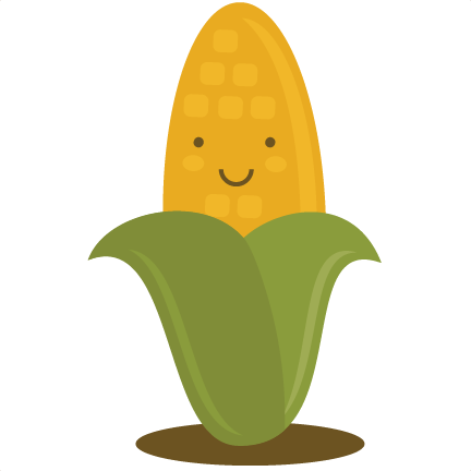Corn png cute. Svg cut file for