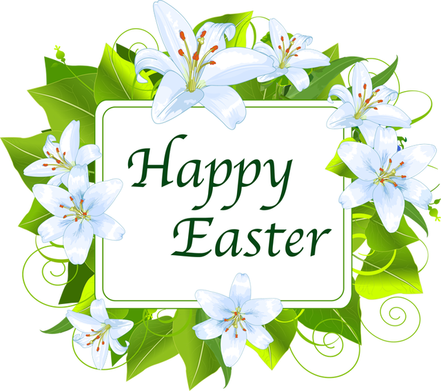 Easter clip green. Free banner cliparts download