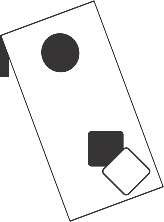 Cornhole vector. Game tailgate party bean