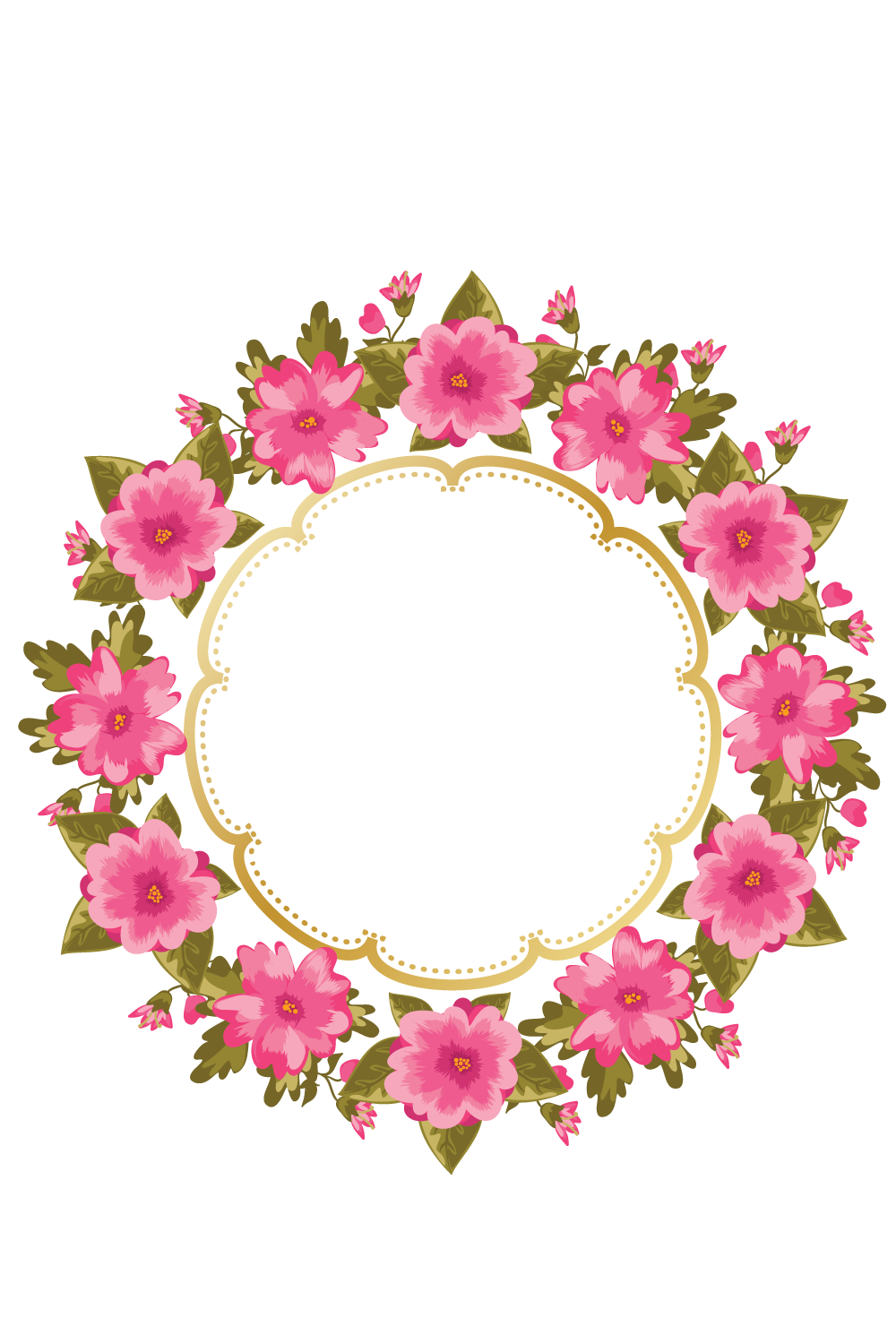 Http e top net. Watercolor flower wreath png png transparent download