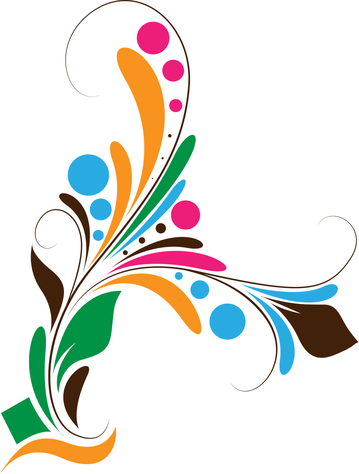 Corporate hd vector backgrounds png. Floral design borders and