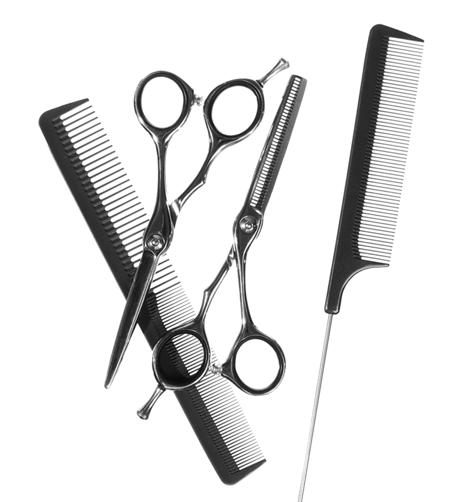 Hair Cutting Tools Drawing 37