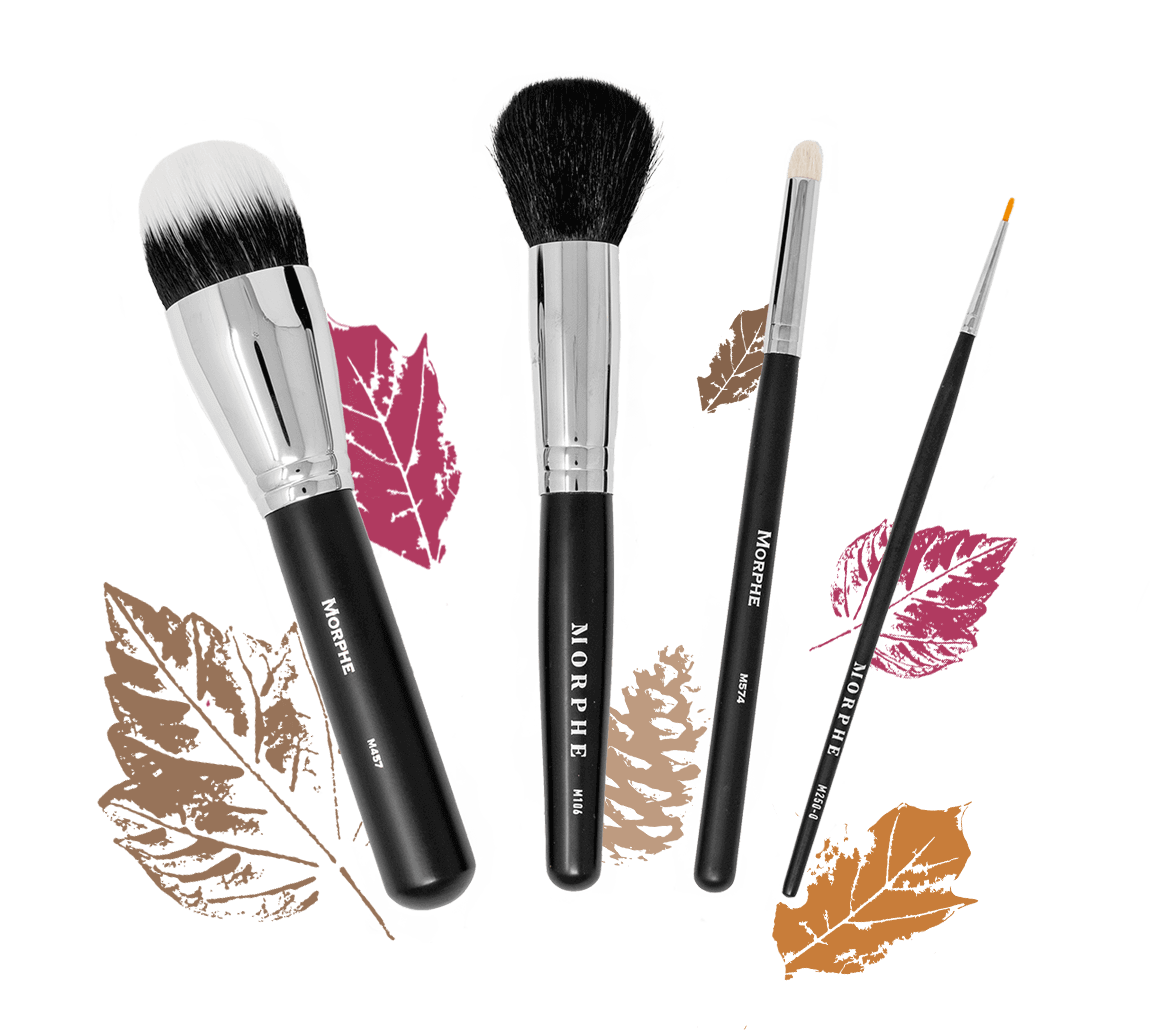Cosmetology drawing makeup brush. Monthly subscription box personalized