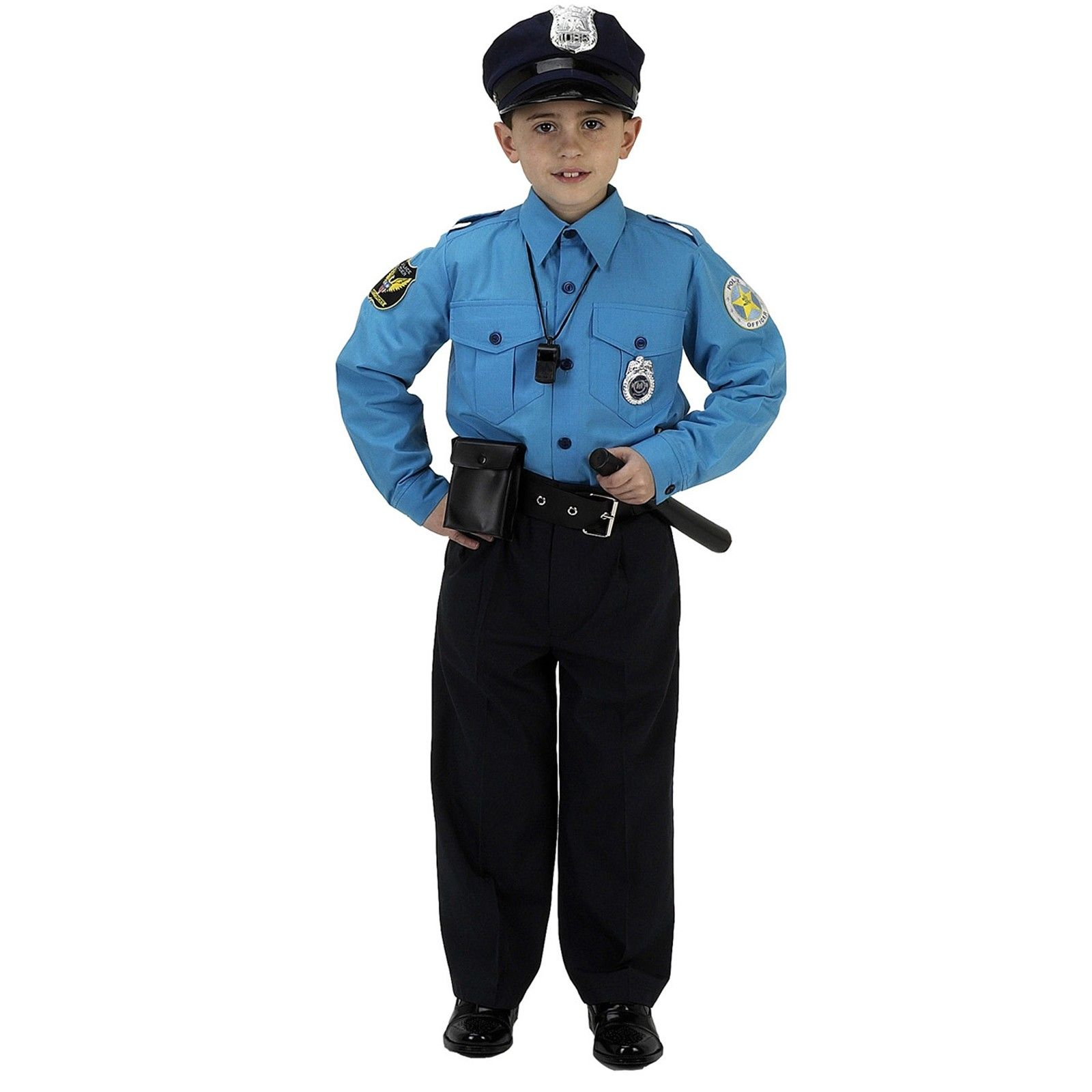 Costume clipart policeman. Jr police officer suit