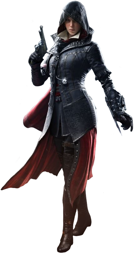 Costume drawing assassin. Evie frye assassins creed