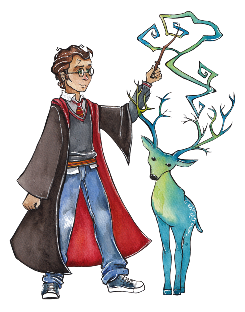 Costume drawing harry potter. Art by lily lu