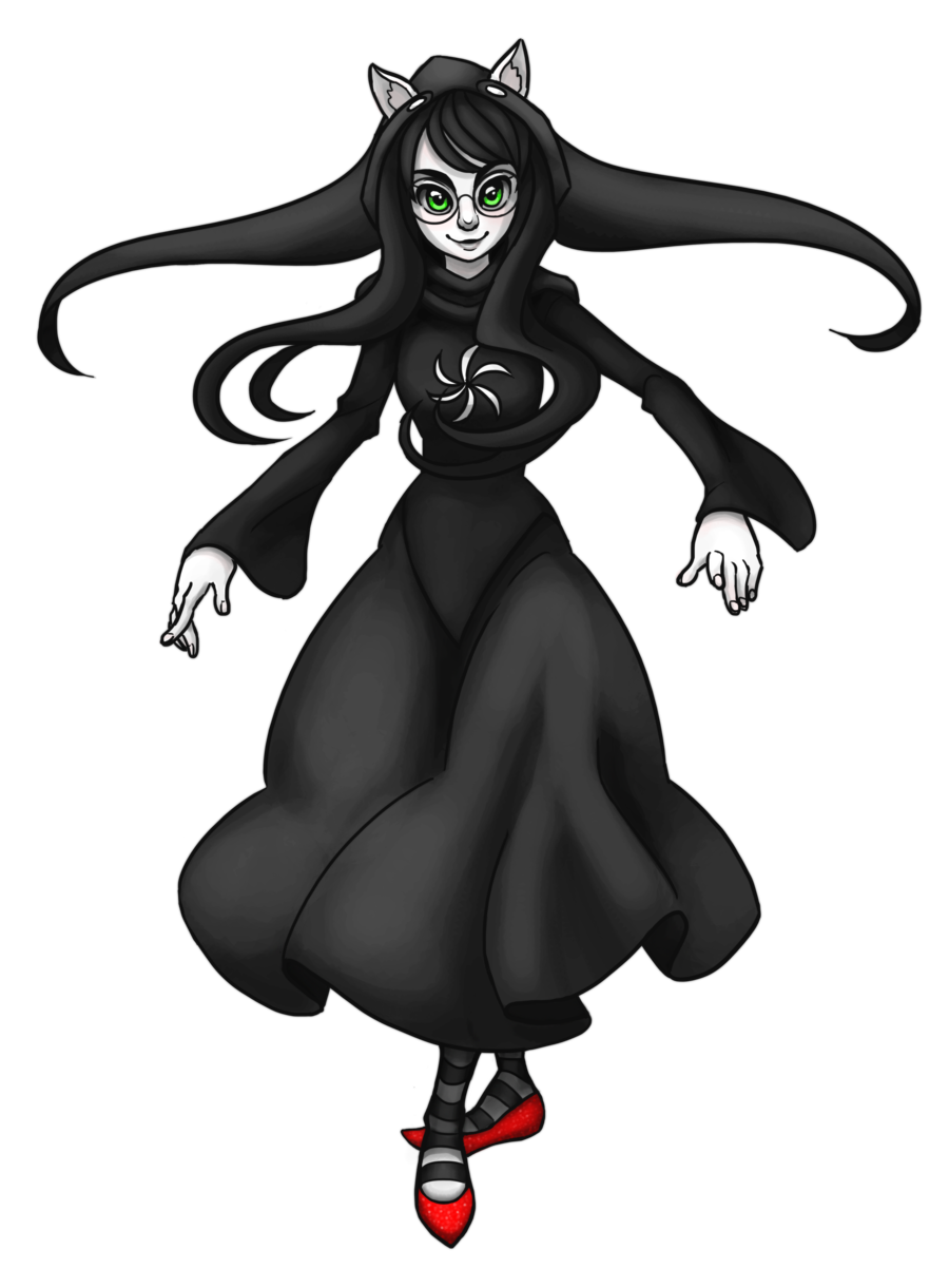 Drawing witch outfit. Of space by sonicrocksmysocks